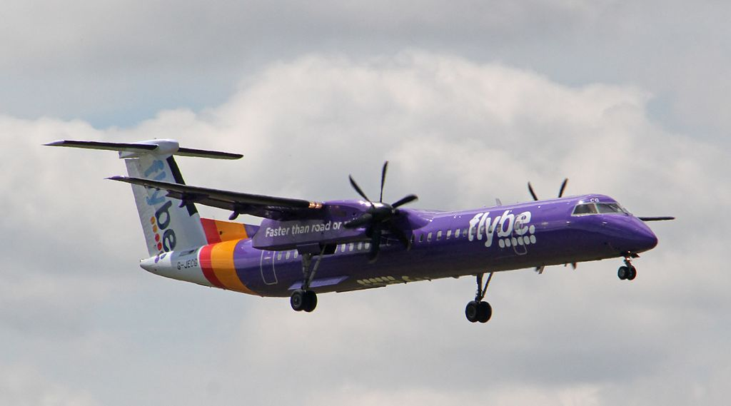 Flybe Q400 G-JECG