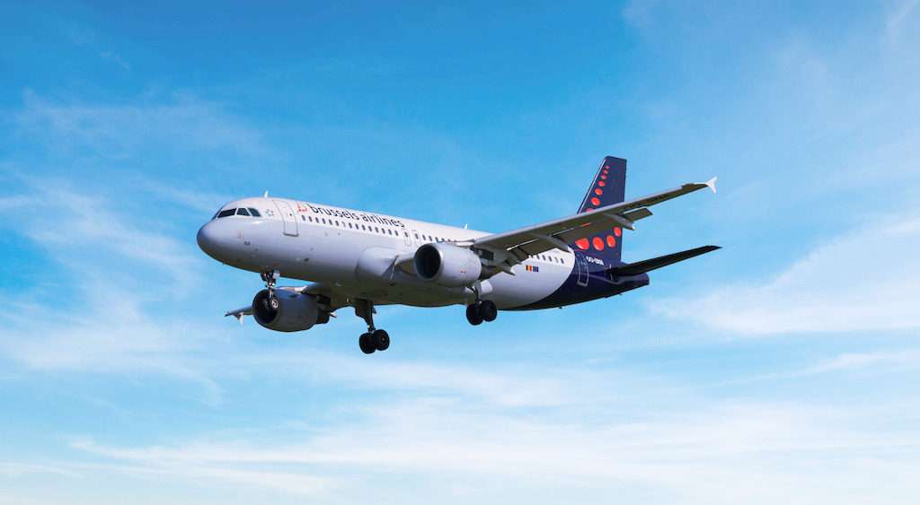 Airbus A320 Brussels Airlines