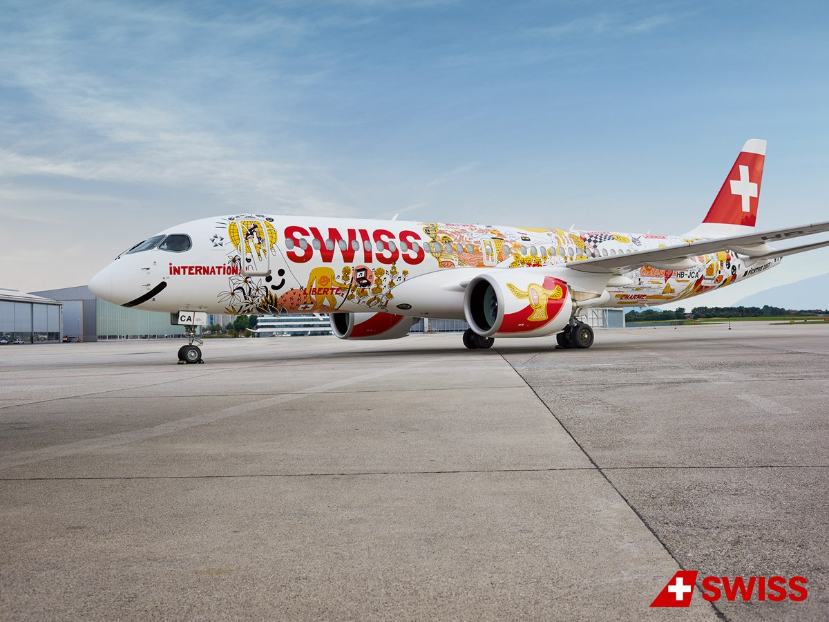 Bombardier CS300 Swiss