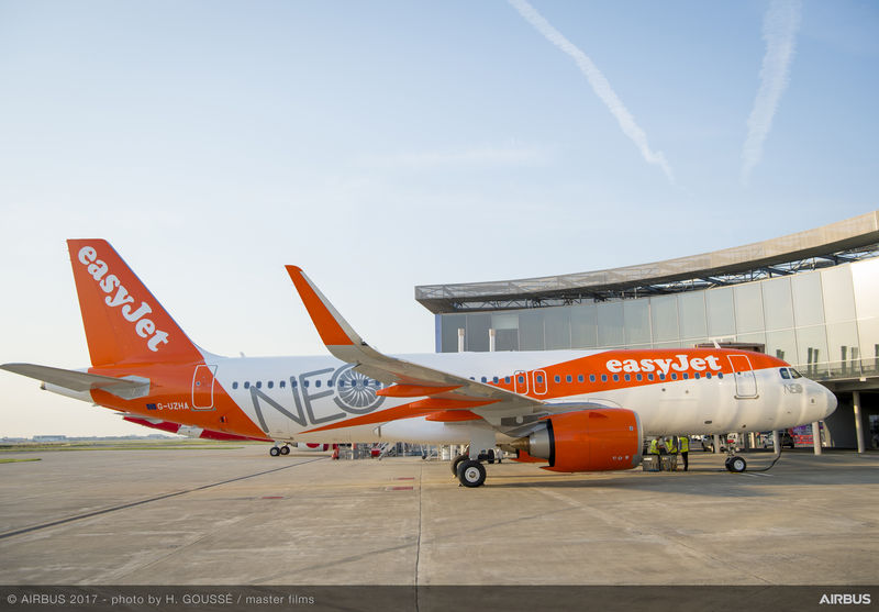 Airbus A320neo easyJet