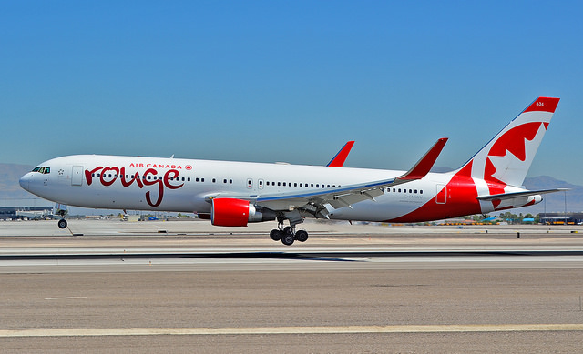 Air Canada Rouge Boeing 767