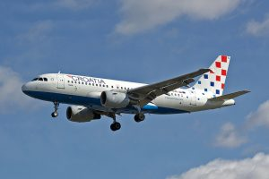 Airbus A319 Croatia Airlines