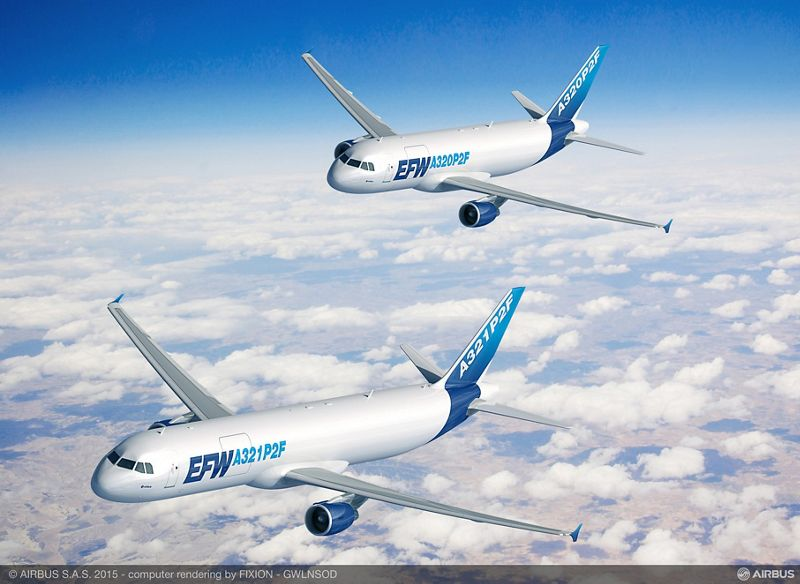 A320P2F and A321P2F