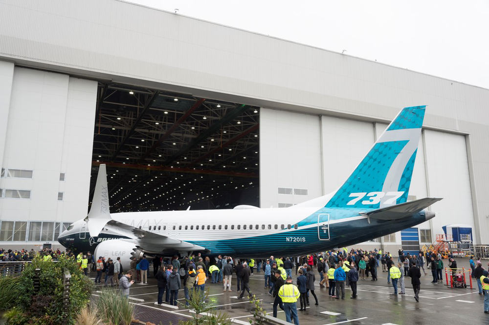 Boeing 737 MAX 7 Reveal