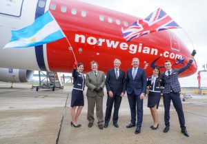 Norwegian flights to Argentina