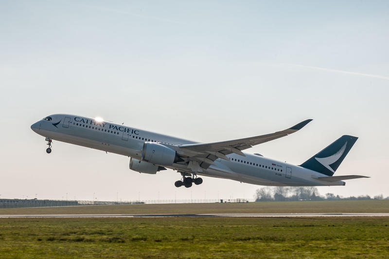Airbus A350 Cathay Pacific