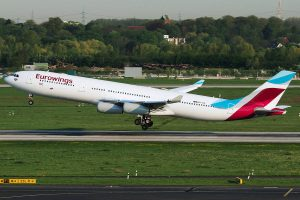 Airbus A340-300 Eurowings