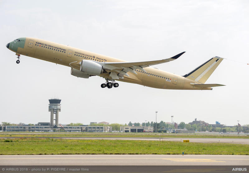Airbus A350-900 ULR Singapore Airlines