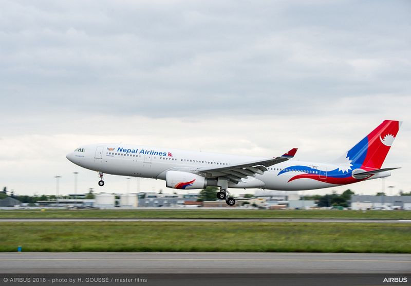 Airbus A330-200 Hifly-Nepal Airlines