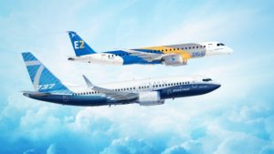 Boeing and Embraer