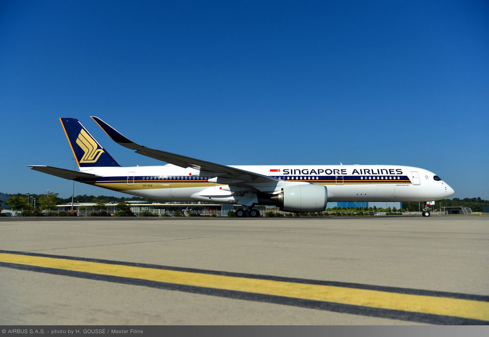 Airbus A350-900ULR Singapore Airlines