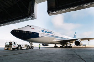 Boeing 747-400 British Airways - BOAC