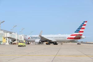 American Airlines in Dubrovnik