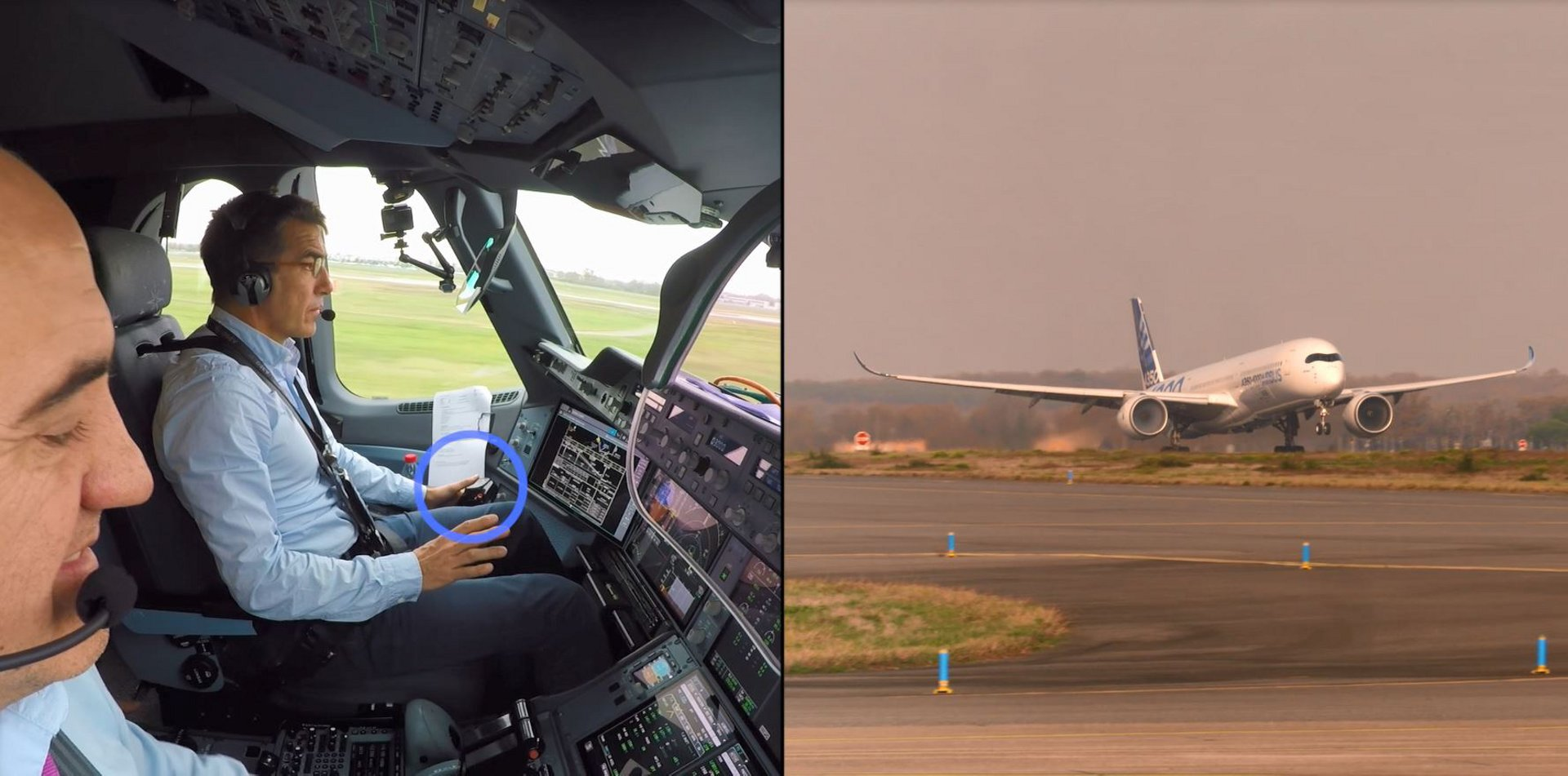 Airbus demonstrates first-fully-automatic vision based take off