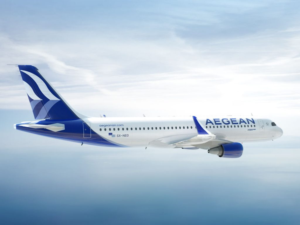 Aegean Airlines New Livery