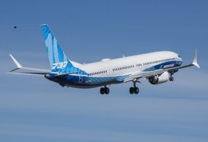 Boeing 737 MAX-10 first flight; Photo by Boeing